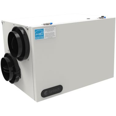Échangeur d'air Fantech SHR 150R VRC - Ventilateur récupérateur de chaleur
