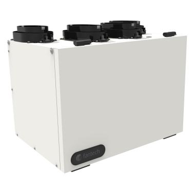 Échangeur d'air Fantech VHR 100R VRC - Ventilateur récupérateur de chaleur