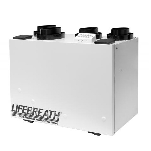 Échangeur d'air Lifebreath 130 ERV-D - Ventilateurs-récupérateurs d'énergie