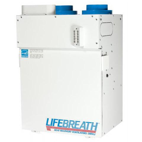 Échangeur d'air Lifebreath 95 Max - Ventilateur récupérateur de chaleur