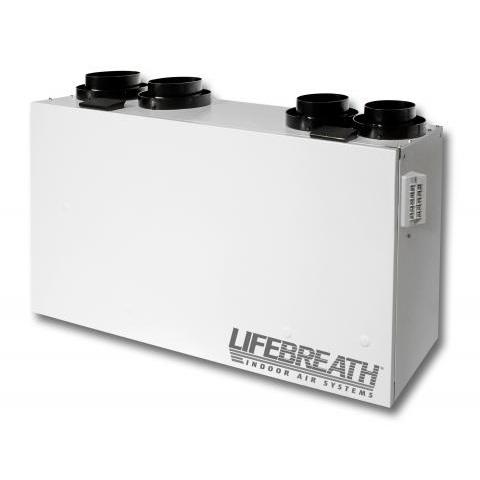 Échangeur d'air Lifebreath RNC 205 - Ventilateur récupérateur de chaleur