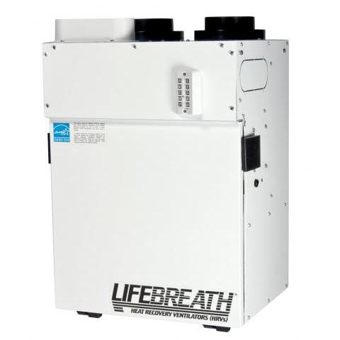 Échangeur d'air Lifebreath RNC 95 - Ventilateur récupérateur de chaleur