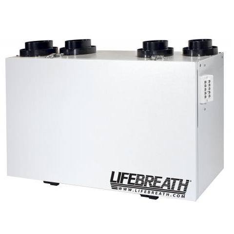 Échangeur d'air Lifebreath RNC5-HEX-TPF - Ventilateur récupérateur de chaleur