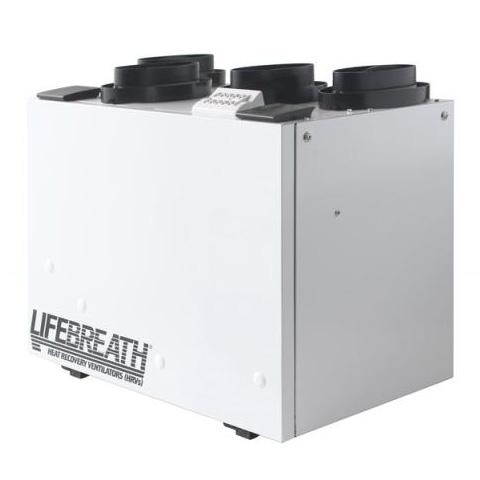 Échangeur d'air Lifebreath RNC5-TPD - Ventilateur récupérateur de chaleur