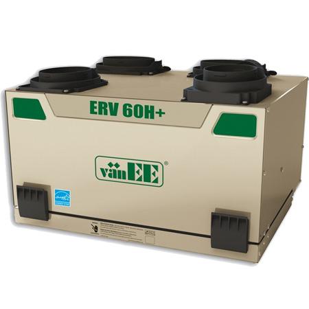 Échangeur d'air vänEE 60H+ ERV 41654 - Ventilateur récupérateur de chaleur