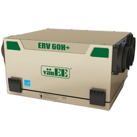 Échangeur d'air vänEE 60H+ ERV 41656 - Ventilateur récupérateur de chaleur