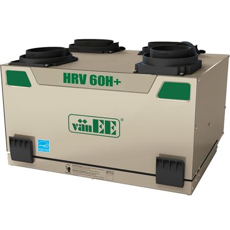 Échangeur d'air vänEE 60H+ HRV 41650 - Ventilateur récupérateur de chaleur