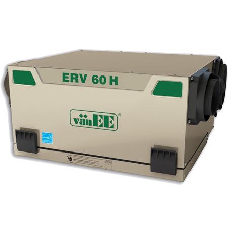 Échangeur d'air vänEE ERV 60H 41604 - Ventilateur récupérateur de chaleur