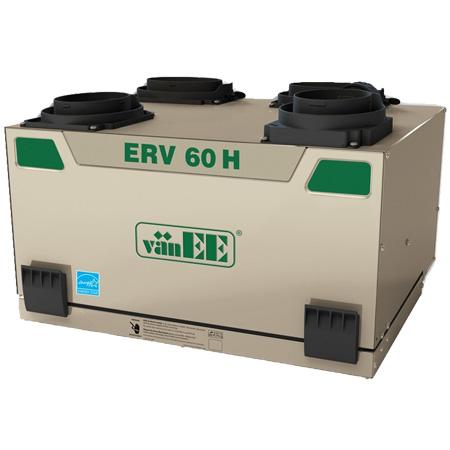 Échangeur d'air vänEE ERV 60H 41606 - Ventilateur récupérateur de chaleur