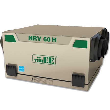 Échangeur d'air vänEE HRV 60H 41600 - Ventilateur récupérateur de chaleur