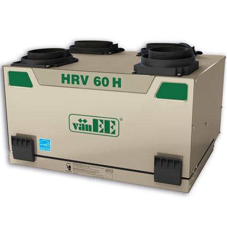 Échangeur d'air vänEE HRV 60H 41602 - Ventilateur récupérateur de chaleur
